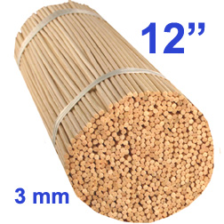 3 mm Diffuser Reeds - 12