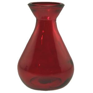 5 oz Red Teardrop Reed Diffuser Bottle