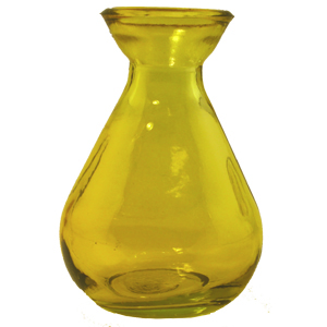 5 oz Yellow Teardrop Reed Diffuser Bottle