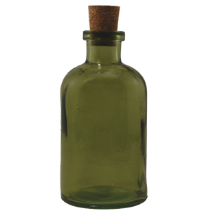 8 oz Dark Green Apothecary Reed Diffuser Bottle