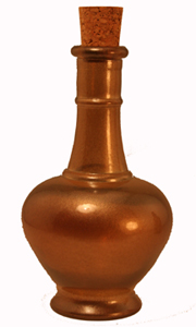 8.5 oz Gold Aladdin Reed Diffuser Bottle