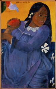 ArtScents Woman w Mango Gauguin