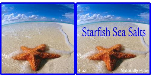 Custom Printed Self-Stick Label - Starfish
