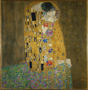 ArtScents The Kiss Klimt