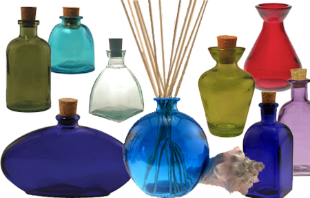 Recycled Reed Diffuser Bottles and Vases